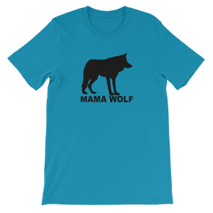 Mama Wolf Animal Unisex short sleeve t-shirt