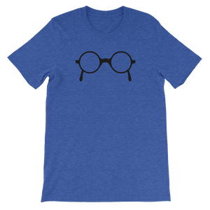 Nerdy Glasses Unisex short sleeve t-shirt
