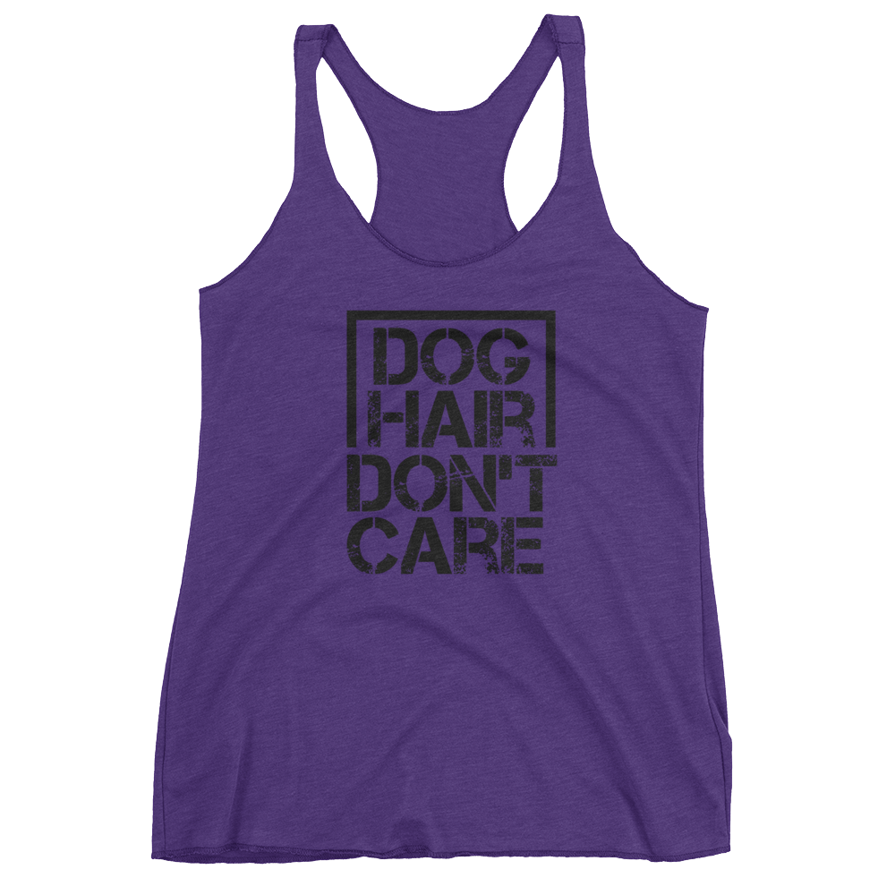 Dog Hair Don't Care - Women's tank top