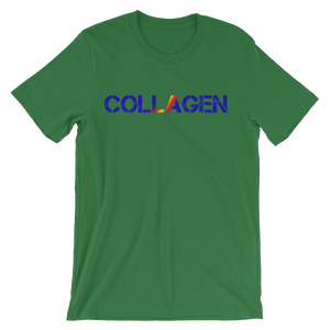 Collagen Unisex short sleeve t-shirt