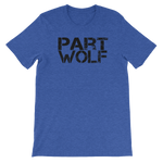 Part Wolf Unisex short sleeve t-shirt