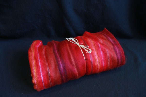 Alpaca Blanket - Red