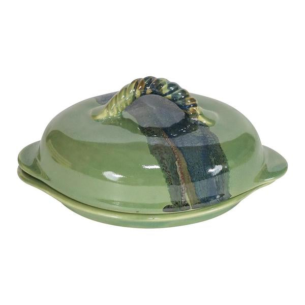 Butter Dish - Covered - Misty Green