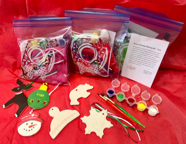 Holiday Ornament Painting Kits To Go
