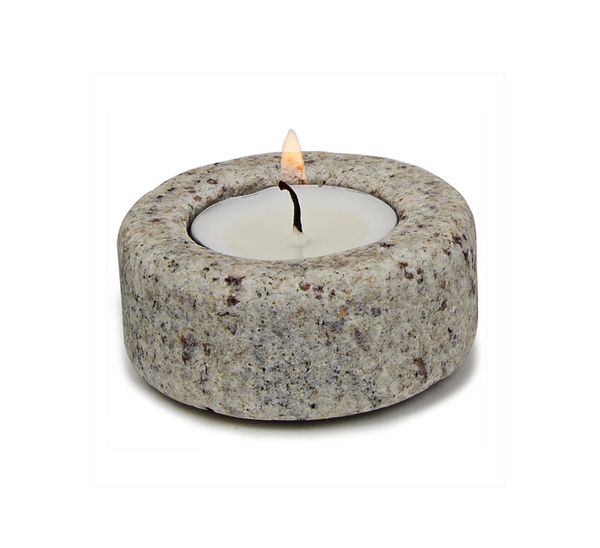 Granite Tea Light Holder
