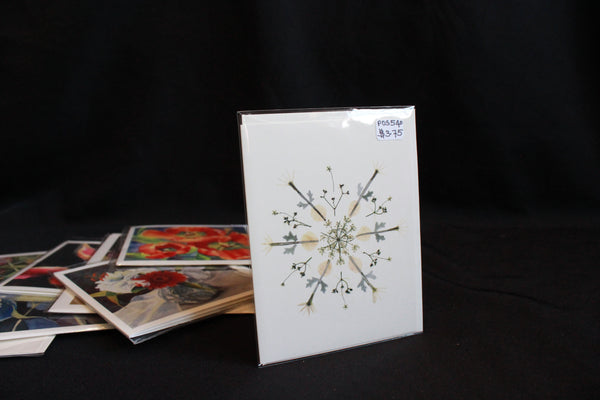 Snowflakes -  Note Cards - Petal People Press
