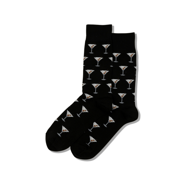 Socks: Mens - Martini Black