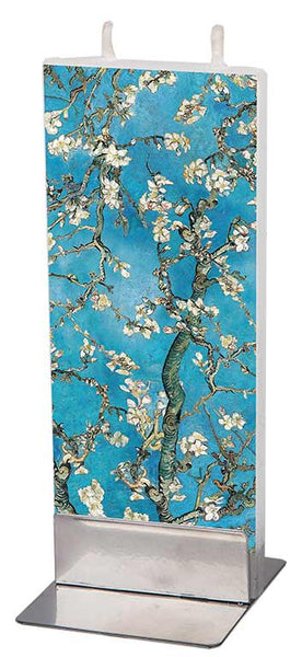 Van Gogh - Almond Blossom Flat Candle