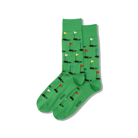 Socks: Mens - Golf
