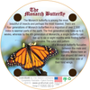 Coaster - Monarch Butterfly