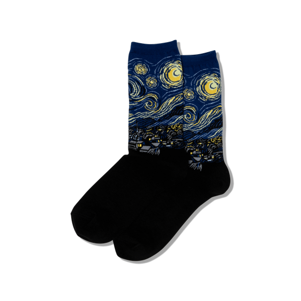 Socks: Women's - Starry Night