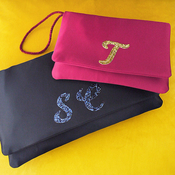 Personalised monogram clutch gift