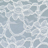 Ivory lace and light blue bridal wedding clutch handbag ASTRID