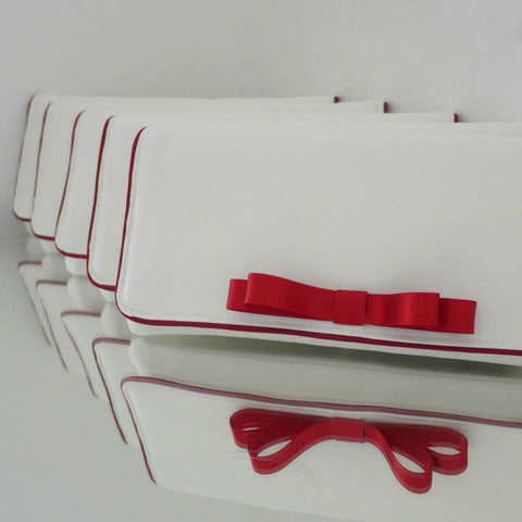 Bridesmaids clutches custom made