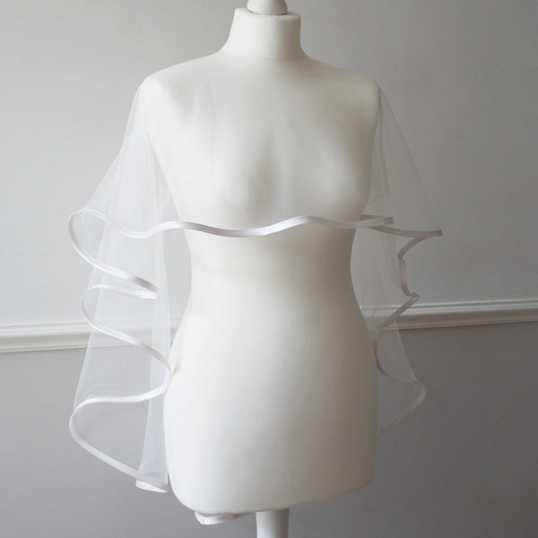 bridal wedding capelet bolero cover up