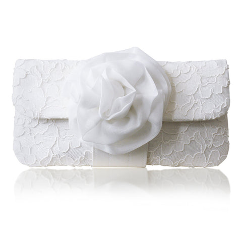 lace bridal clutch for weddings