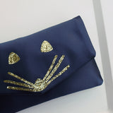 Mouse glitter clutch - choose your colours