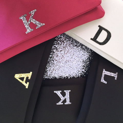 personalised bridesmaid clutches