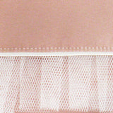 Blush and ivory satin clutch handbag ROMILLY