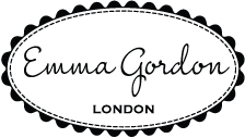 Emma Gordon London - handmade bridal clutches and evening bags