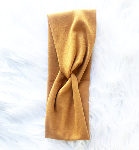 Knotted Headband (caramel)
