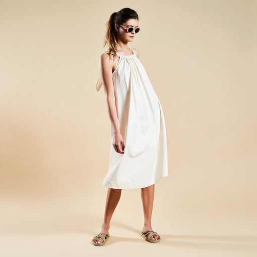 "COASTLINE DRESS ""white"""
