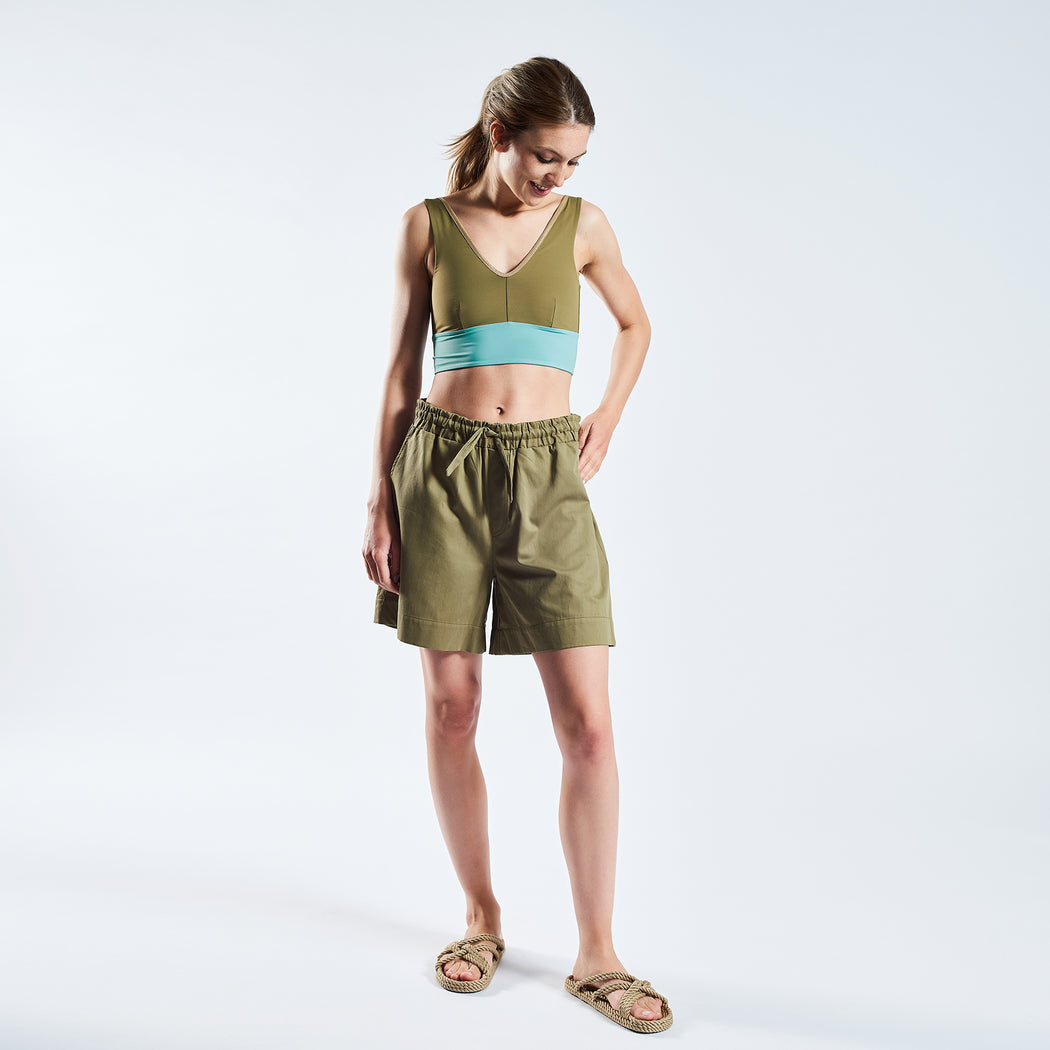 "SUNSHINE SHORTS ""clay"""