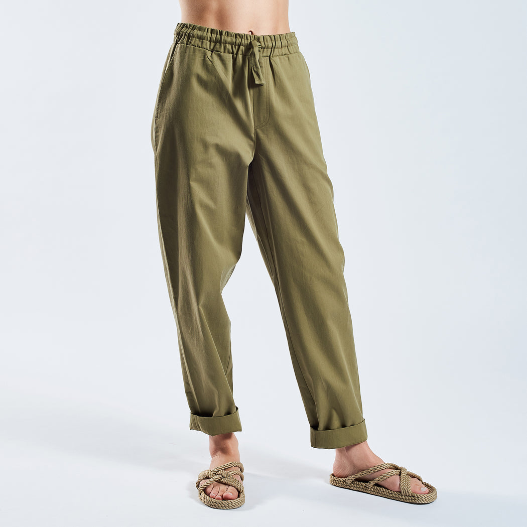 "RELAX PANTS ""clay"""