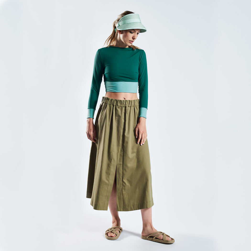 "SUMMER SKIRT ""clay"""