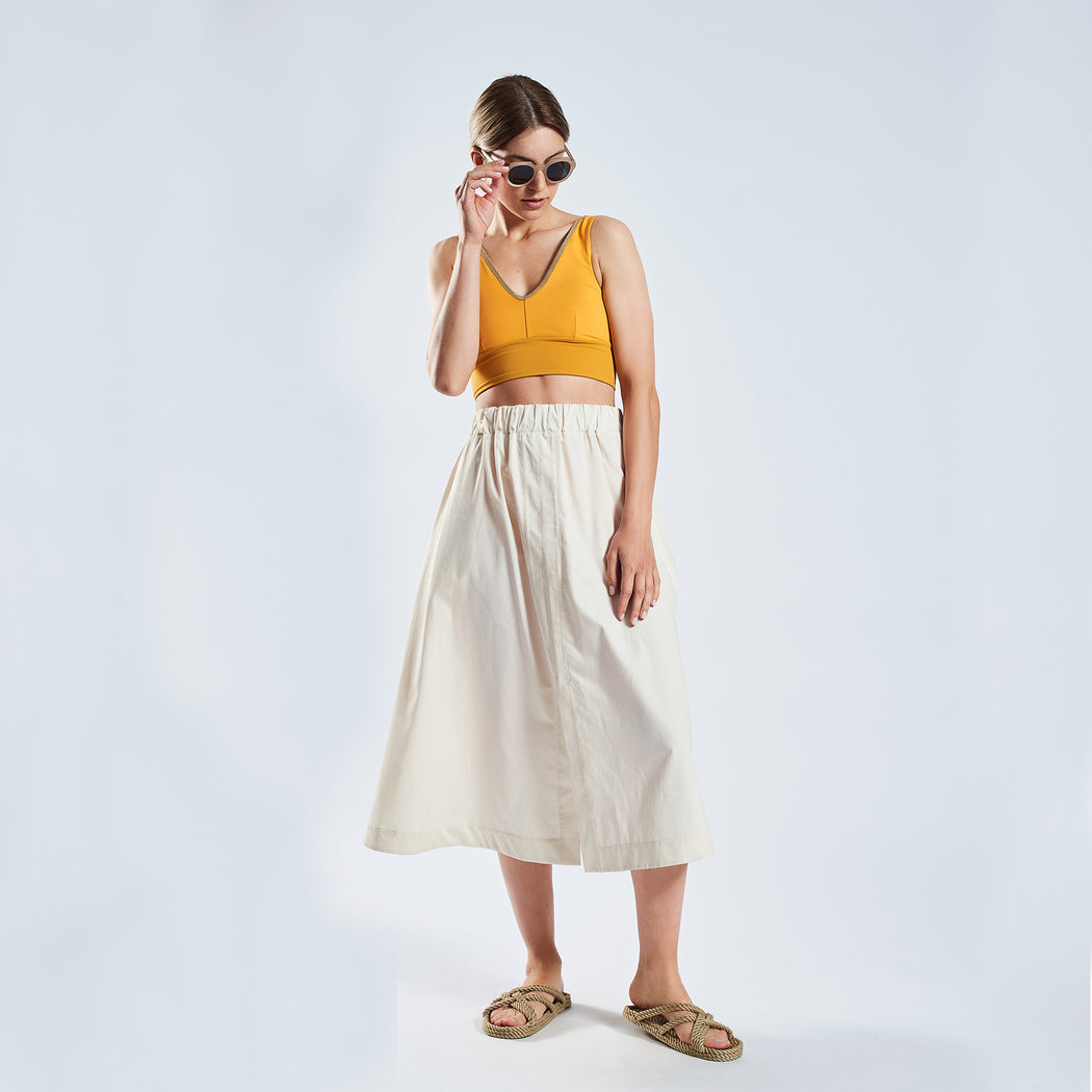 "SUMMER SKIRT ""white"""