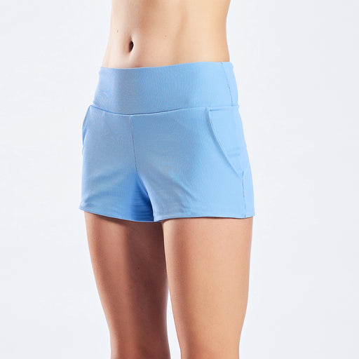 "LOOSE SHORTS SWIM APPAREL ""cornflower"""