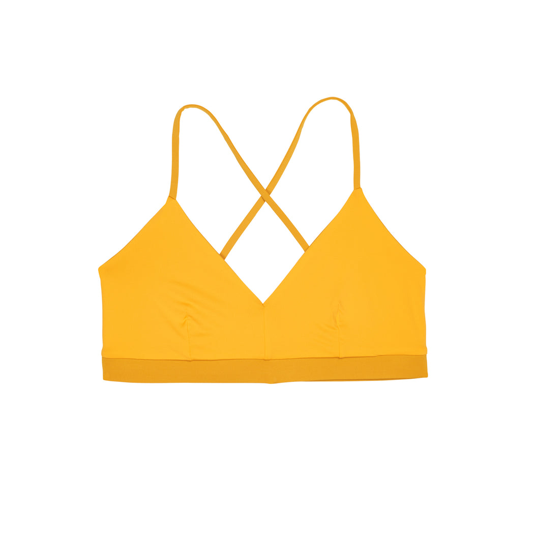 "SPORT TOP ""gold-amber"""