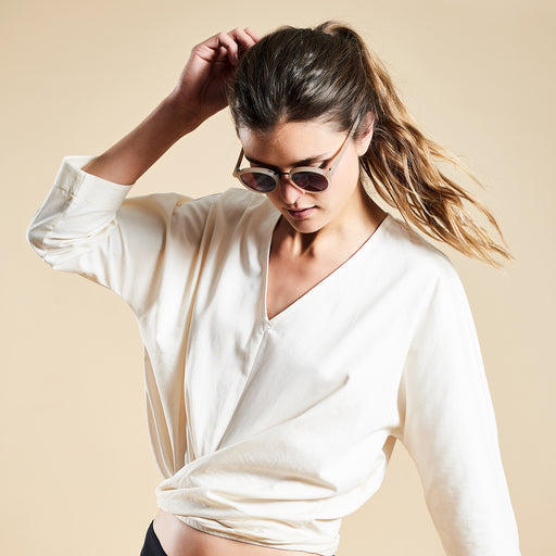 "ISLAND BLOUSE ""white"""