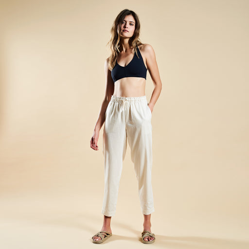 "RELAX PANTS ""white"""