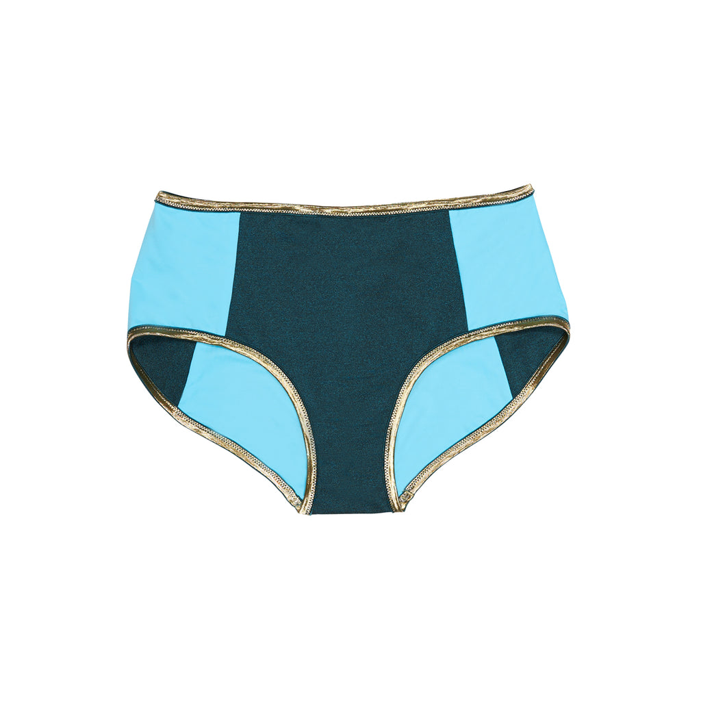"BLOCSHORTS SHINE ""teal-sky"""