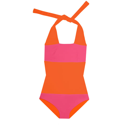 "BIKINISUIT ECO FLASH ""tangerine-pink"""