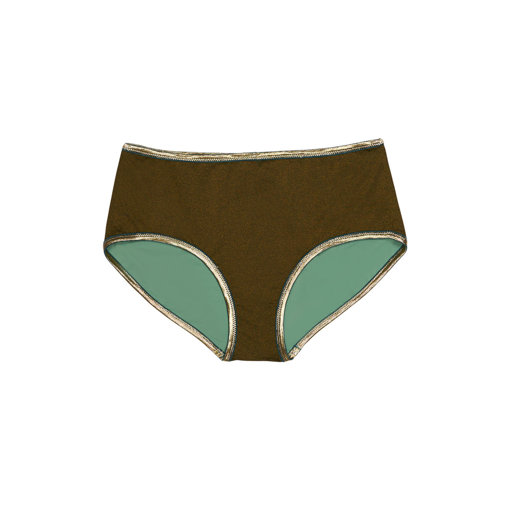 "SHORTS SHINE ""bronze-sage"""