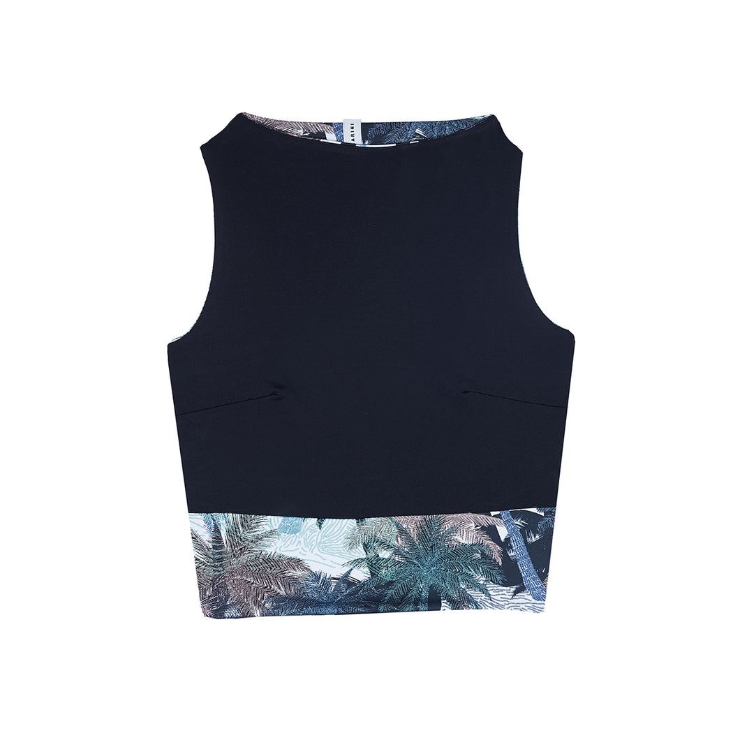 "SURFTOP ""palmeras-black"""