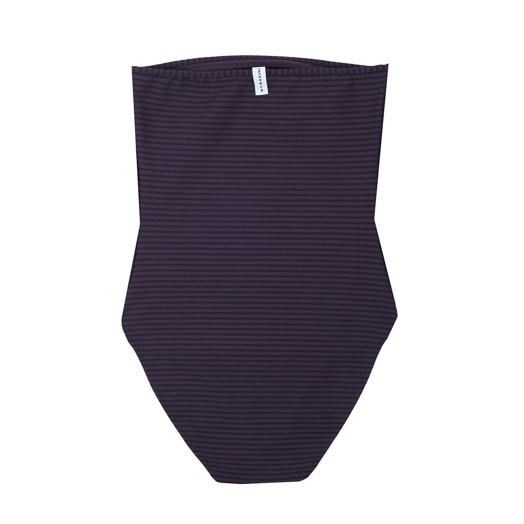 "BANDEAUSUIT STRIPES ""hazel"""