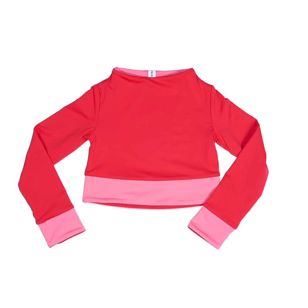 "MINI Surfshirt ""candy-red"""