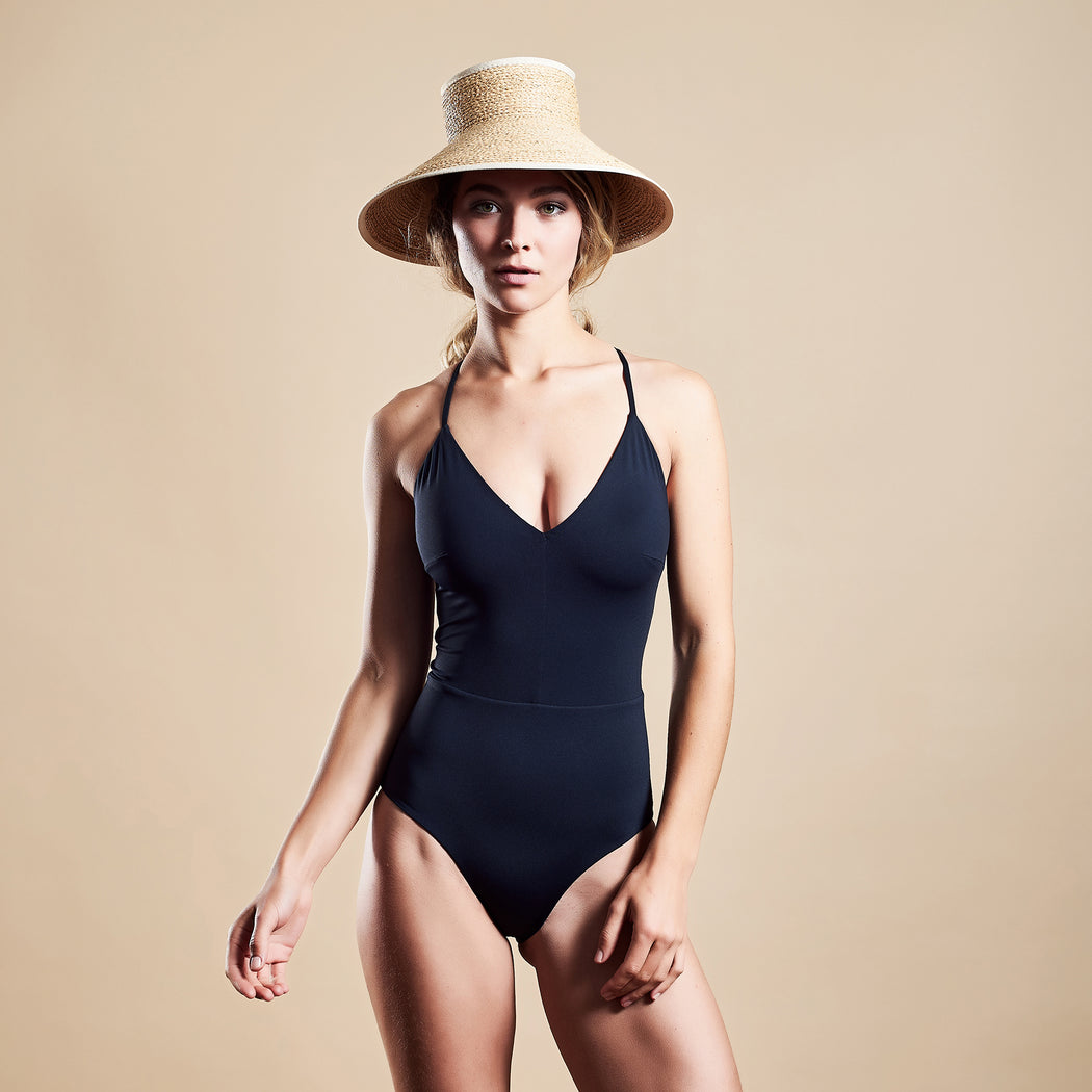 "SUMMERSUIT ""black-navy"""
