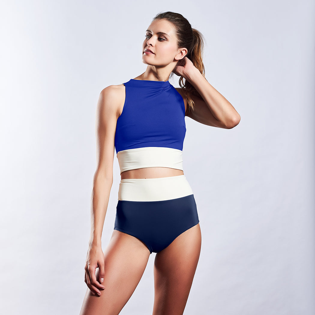 "SURFTOP ""navy-blue-white"""