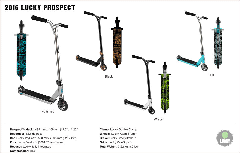 lucky scooters 2016 prospect
