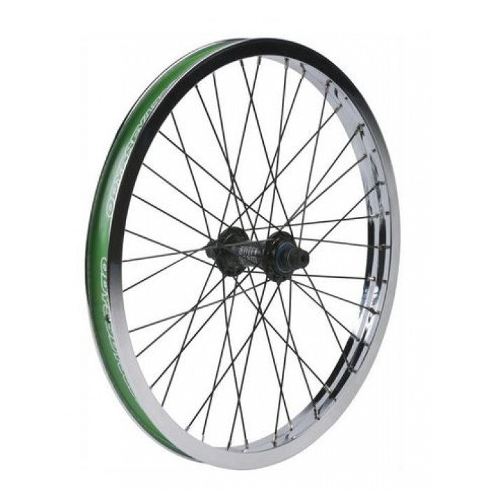 Odyssey Hazard Lite Front 36H Wheel - Chrome