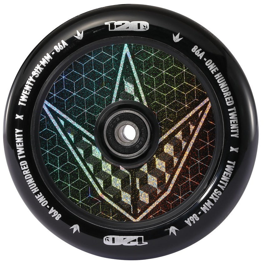 Envy Hollow Core Hologram Wheels - 120mm
