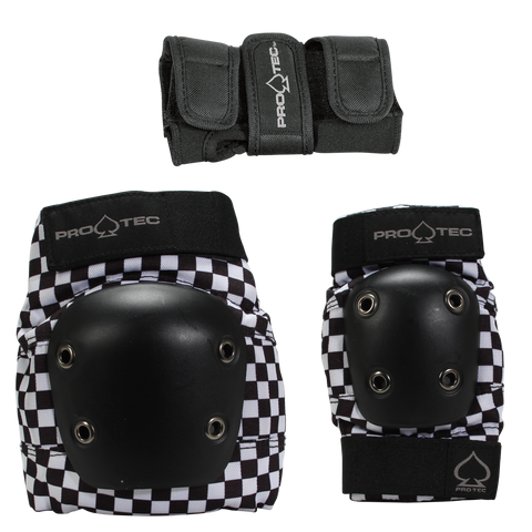 PRO-TEC Junior 3-Pack Pad Set
