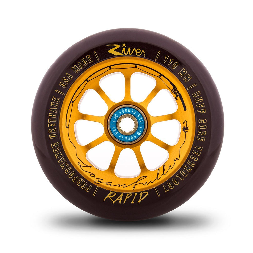"River Wheels Co - ""The Angler"" Rapids 110mm (Logan Fuller Signature)"