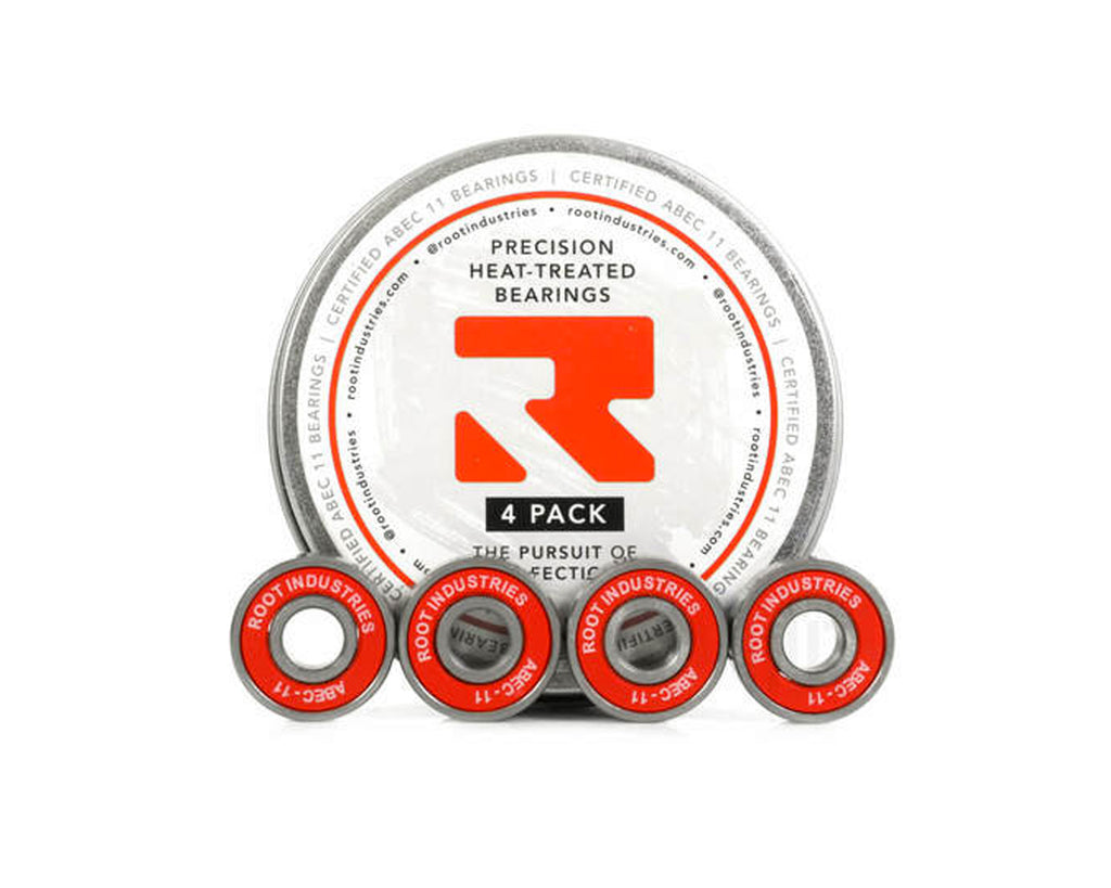 Root Industries ABEC 11 Bearings 4 Pack Tin