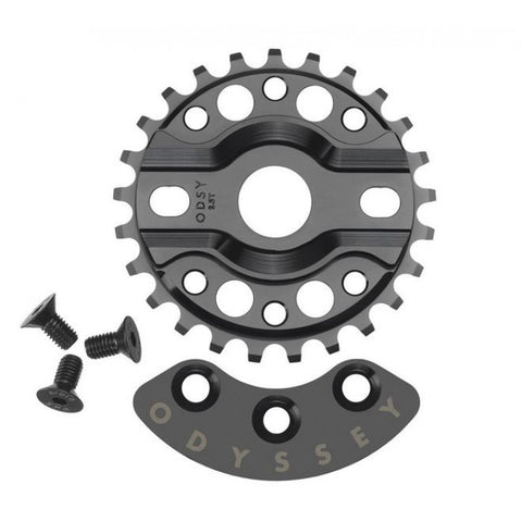 "Odyssey ""Half Bash"" 25 Tooth Sprocket - Black"