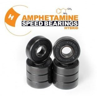 Amphetamine Hybrid Ceramic Bearings (8 Pack)